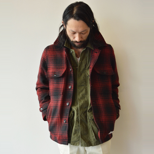× BIG YANK LOGGER CHECK SPORT JACKET (TYPE-1)