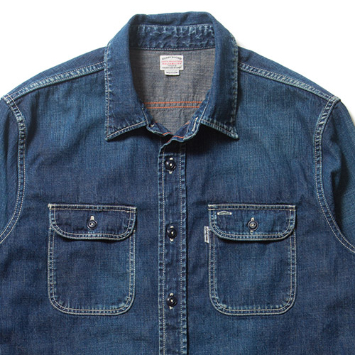 Denim L/S Work Shirt (Used Wash)
