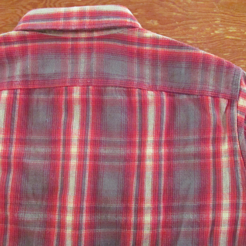 COTTON CHECK FLANNEL SHIRT ★40%OFF★
