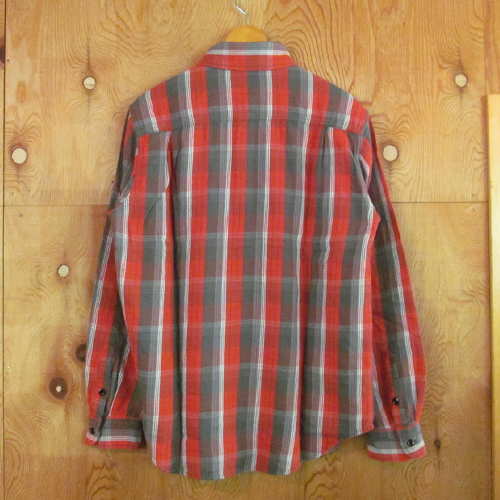 FLANNEL CHECK B.D SHIRT (TYPE-1)
