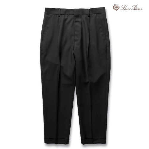 PLEATED TROUSERS (再入荷)