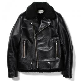 × T.NOGUCHI DOUBLE RIDERS LEATHER JACKET
