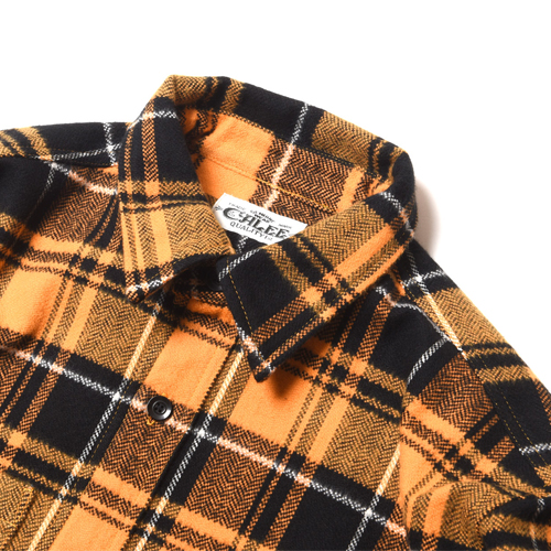 DOBBY HERRINGBONE CHECK L/S SHIRT