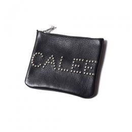CALEE STUDS LEATHER PURSE ★30% OFF★