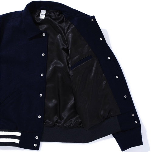 LIGHT MELTON JACKET