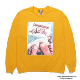 UP IN SMOKE / CREW NECK SWEAT SHIRT (TYPE-1)