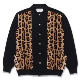 TWO-TONE KNIT POLO CARDIGAN (TYPE-1)