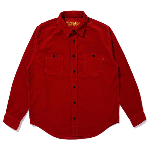 L/S CORDUROY WORK SHIRT