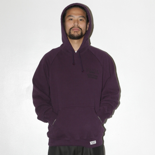 FANIA / WASHED H/W PULLOVER HOODED SWEAT (TYPE-5)