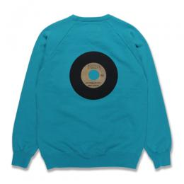 FANIA / WASHED H/W CREW NECK SWEAT SHIRT (TYPE-3)
