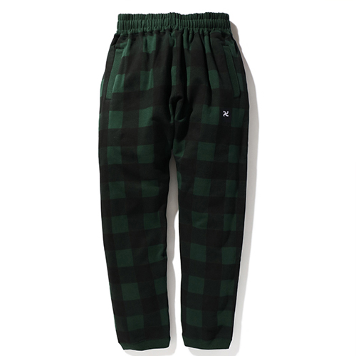 BUFFALO CHECK SWEAT PANTS