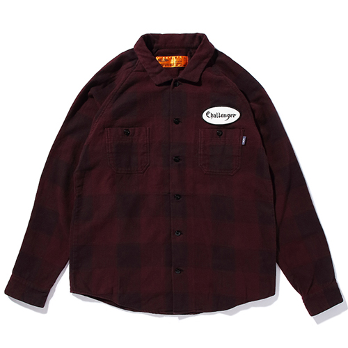 L/S PATCH CHECK SHIRT