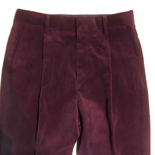 PLEATED TROUSERS (TYPE-1) CORDUROY