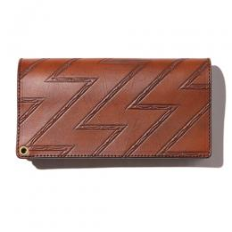 EMBOSSING LEATHER LONG WALLET [17SS1035]