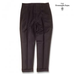 PLEATED TROUSERS (TYPE-1) BLURRED CHECK