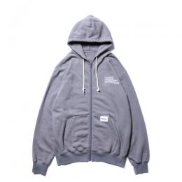 Zip Sweat Parka