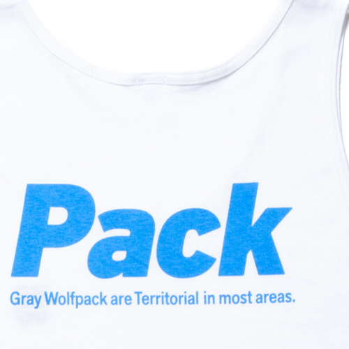GRAY WOLF PACK Tank