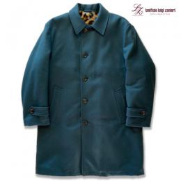 BAL COLLAR COAT<lanificio luigi zanieri>JAGUAR FUR