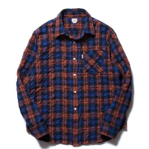 Over Check L/S Work Shirt