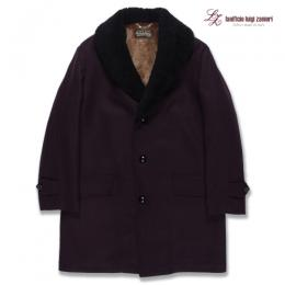 MOUTON COLLAR GANG COAT <lanificio luigi zanieri>