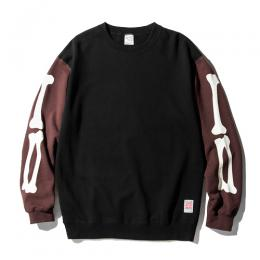 SET IN SLEEVE BONE SWEAT