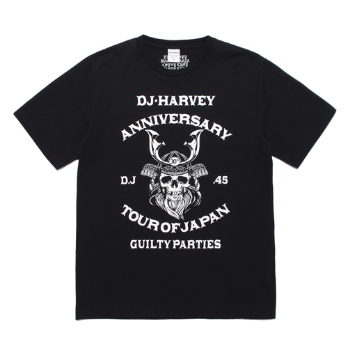DJ HARVEY / CREW NECK T-SHIRT