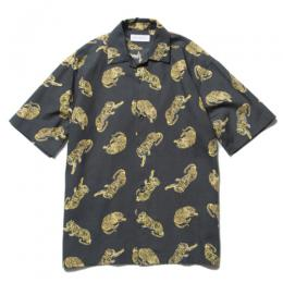 Tiger Open Collar SS Shirt