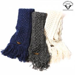 ×HIGH LAND 2000 WOOL MUFFLER [16AW001HI]