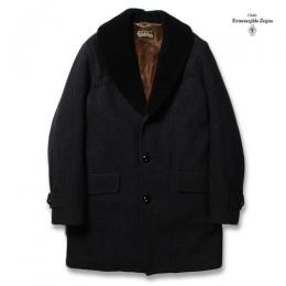 MOUTON COLLAR GANG COAT