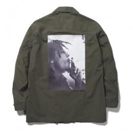 BOB MARLEY × WACKO MARIA FATIGUE JACKET (TYPE-1)