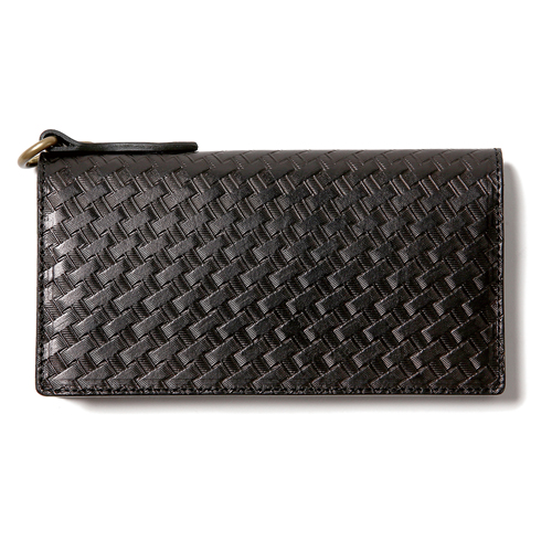 EMBOSSING LEATHER WALLET [16S124]