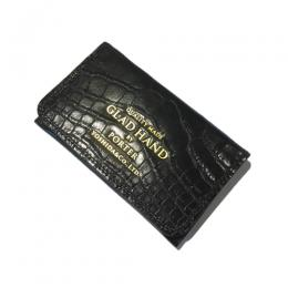 GH - BELONGINGS CARD CASE (CROCOLIKE)