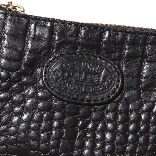 EMBOSSING CROCODILE LEATHER COIN PURSE ★40% OFF★