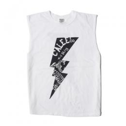 LIGHTNING NO SLEEVE T-SHIRT