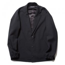Wool Serge Lapel Coach Jacket