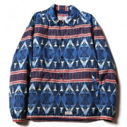 NATIVE PATTERN COACH JACKET