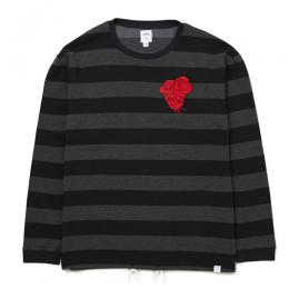 "L/S C-NECK BORDER T ""EARNIE"""