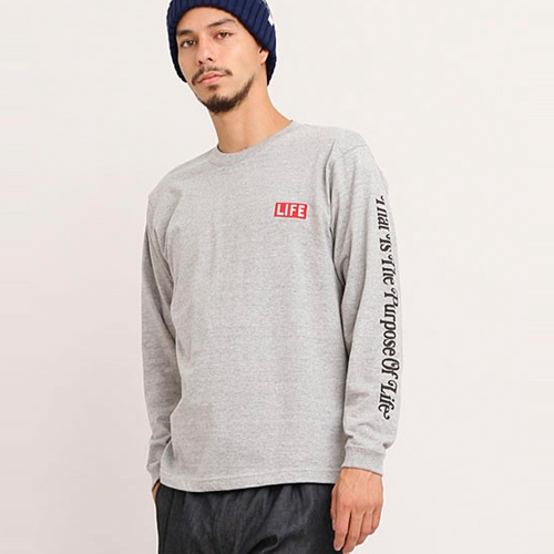 DELUXE X LIFE LONG SLV TEE ★30%OFF★