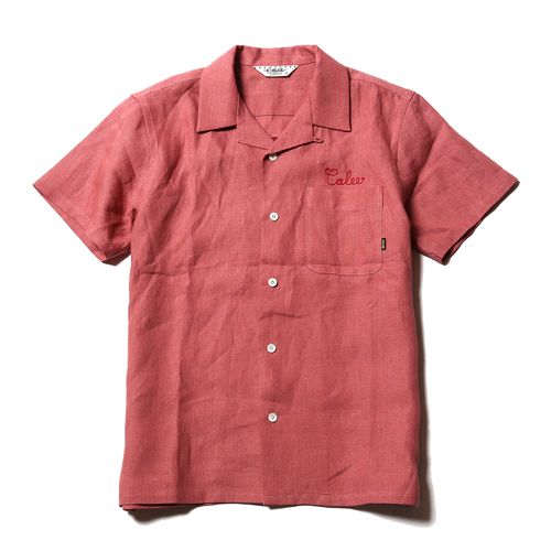 S/S LINEN EMBROYDERY SHIRT [17SS069]★30%OFF★