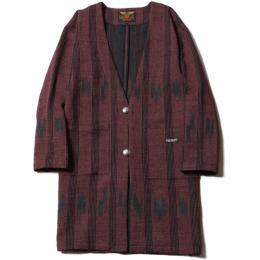 NATIVE JACQUARD HAPPI COAT