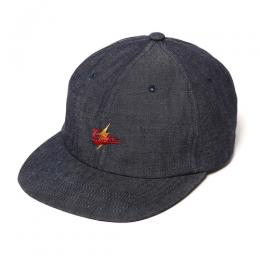 EMBROIDERY DENIM CAP