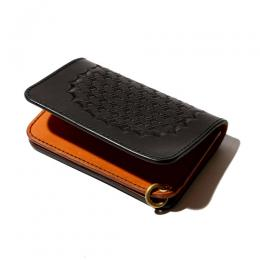 EMBOSSIN LEATHER MINI WALLET [17AW1041]