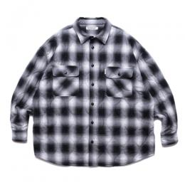 Ombre Check Quilting CPO Jacket