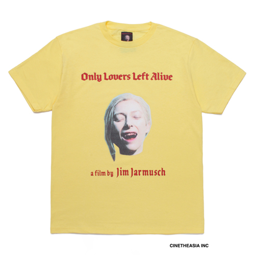 JIM JARMUSCH / CREW NECK T-SHIRT