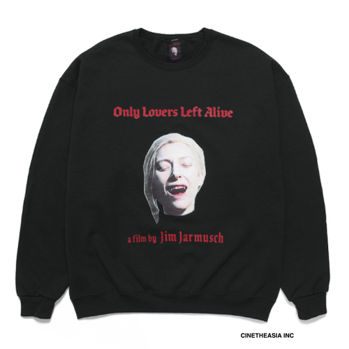 JIM JARMUSCH / CREW NECK SWEAT SHIRT