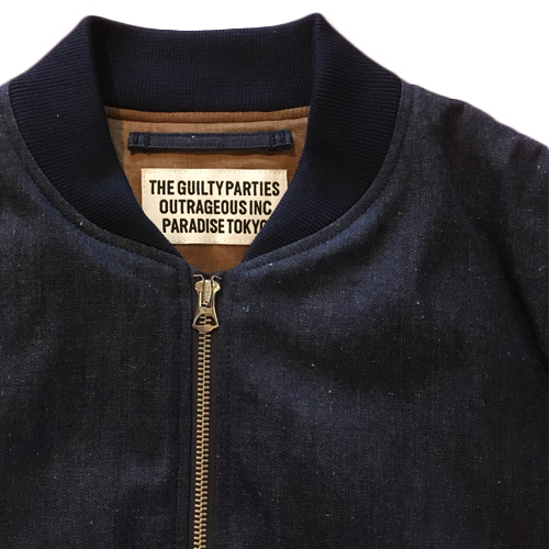 MA-1 FLIGHT JACKET -DENIM- (TYPE-1)