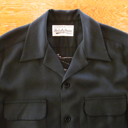 50'S OPEN COLLAR SHIRT (TYPE-3)